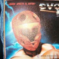 Discos de vinilo: EP EVO - QUIEN APRETO EL BOTON / MALDITA SOLEDAD ( DEL LP ANIMAL DE CIUDAD ) - EMI - 1983. Lote 35055426