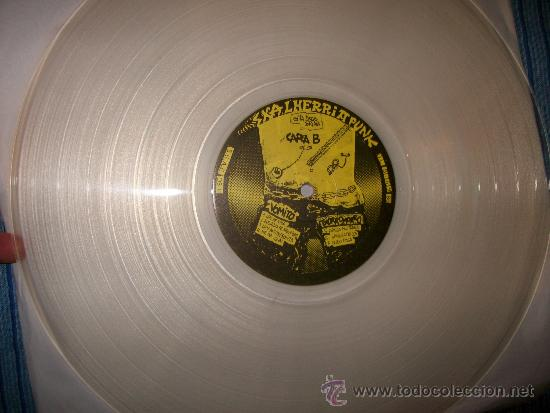 Discos de vinilo: LP VARIOUS - SKALHERRIA PUNK - DISCOS SUICIDAS - transparente - Foto 2 - 35055748