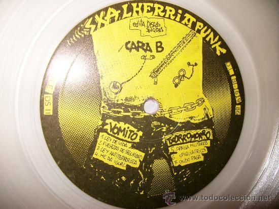 Discos de vinilo: LP VARIOUS - SKALHERRIA PUNK - DISCOS SUICIDAS - transparente - Foto 3 - 35055748
