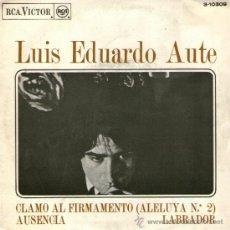 """Discos de vinilo: LUIS EDUARDO AUTE - EP VINILO 7"""" - ALELUYA Nº 2 + 2 - CON INSERTO - RCA 1968. Lote 35055877"""
