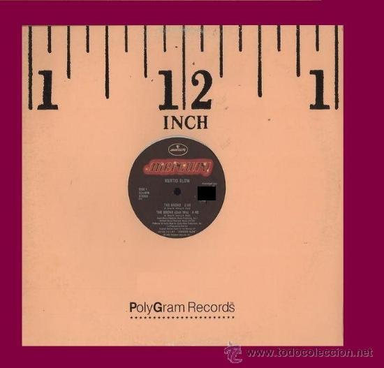 KURTIS BLOW ?MAXISINGLE THE BRONX 1986 MERCURY – 888 282-1 US (Música - Discos de Vinilo - Maxi Singles - Rap / Hip Hop)