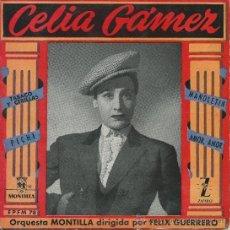 Discos de vinilo: CELIA GAMEZ-EP TABACO Y CERILLAS +3-1962. Lote 35059458