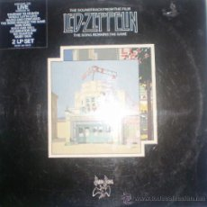 Discos de vinilo: LED ZEPPELIN-DOBLE LP-THE SOUNDTRACK FROM THEFILM,THE SONG REMAISNS THE SAME.. Lote 35063616