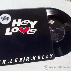 Discos de vinilo: MR LEE/R.KELLY.. HEY LOVE..JAZZY LEE. Lote 35066877