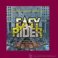 Discos de vinilo: EASY RIDER B.S.O. LP STATESIDE-EMI UK 1969 - BYRDS, ELECTRIC PRUNES, JIMI HENDRIX, . Lote 35069702