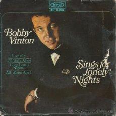 Discos de vinilo: BOBBY VINTON-EP SOLITARIO +3 ESPAÑOL 1965. Lote 35070141