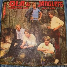 Discos de vinilo: EP OLA & JANGLERS - CALIFORNIA SUN / YES I CAN - DISCOPHON - 1970. Lote 35103965