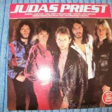 Discos de vinil: MINI LP JUDAS PRIEST - SINNER, EXCITER, GREEN MANALISHI, HOT ROCKIN, RIPPER, HELL BENT FOR LEATHER. Lote 35104096