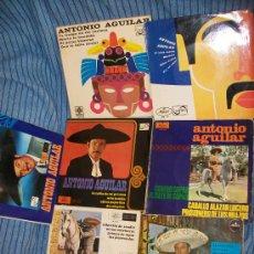 Discos de vinilo: 7 EPS ANTONIO AGUILAR - EL PERRO NEGRO, MARIA LA BANDIDA, OJITOS AZULES, LA CELDA DE MI PRISIÓN, COL. Lote 232969520