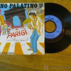 Discos de vinilo: GINO PALATINO. VENDETTA A PARIGI.RIFIFFI SUL LA STRADA. Lote 35134209