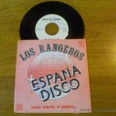 Discos de vinilo: LOS RANGEROS.ESPANA DISCO.SONO MORTO D´AMORE. Lote 35135421
