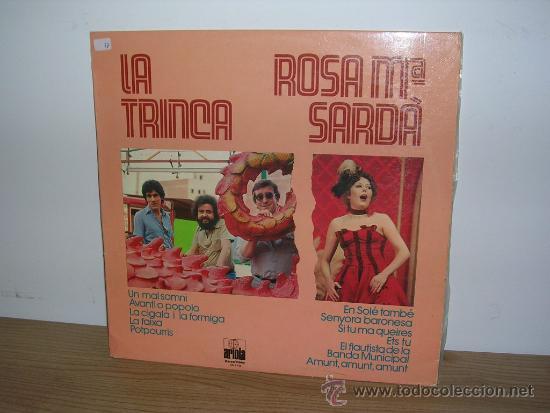 LA TRINCA I ROSA Mª SARDÀ - LP 1979 (Música - Discos - LP Vinilo - Grupos Españoles de los 70 y 80)