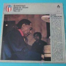 Discos de vinilo: DUKE ELLINGTON AND HIS ORCHESTRA. Lote 35168285