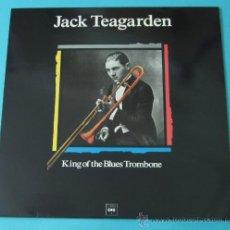 Discos de vinilo: JACK TEAGARDEN. KING OF THE BLUES TROMBONE. Lote 35169898