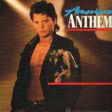 Discos de vinilo: AMERICAN ANTHEM. THE ORIGINAL MOTION PICTURE SOUNDTRACK - LP 1986. Lote 35189109