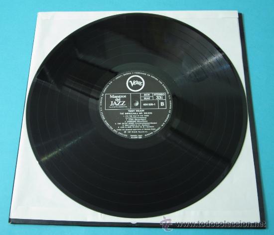 Discos de vinilo: TEDDY WILSON. THE IMPECCABLE MR. WILSON - Foto 4 - 35169934