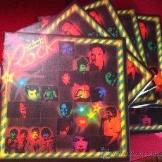 Discos de vinilo: LP-LAS GRANDES ESTRELLAS DEL ROCK-60 DISCOS. Lote 35174559