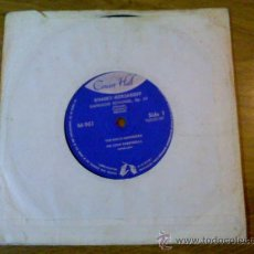 Discos de vinilo: RIMSKY KORSAKOFF. CAPRICCIO ESPAÑOL.. THE HALLE ORCHESTRA. Lote 35177163