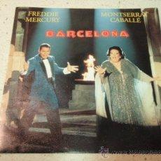 Discos de vinilo: FREDDIE MERCURY & MONTSERRAT CABALLÉ ( BARCELONA 2 VERSIONES - EXERCISES IN FREE LOVE ) 1987-GERM. Lote 35179552