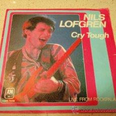 Disques de vinyle: NILS LOFGREN ( CRY TOUGH - LIVE FROM ROCKPALAST ) 1979/1980 - HOLANDA SINGLE45 A&M RECORDS. Lote 35180753