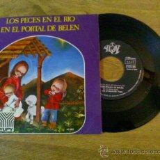 Discos de vinilo: ORFEON INFANTIL DE ESPAÑA. LOS PECES EN EL RIO.EN EL PORTAL DE BELEN.. Lote 35188235