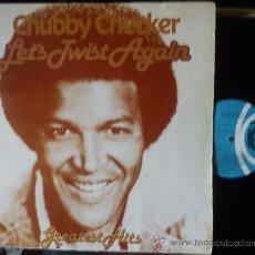 Discos de vinilo: CHUBBY CHECKER - LET´S TWIST AGAIN - GREATEST HITS. Lote 35185969