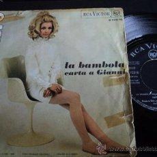 Disques de vinyle: PATTY BRAVO LA BAMBOLA // CARTA A GIANNI. 1968. RCA VICTOR. Lote 35189858