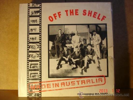 OFF THE SHELF - MADE IN AUSTRALIA. THE INVISIBLE SKA YEARS - SKANK MLP-109 - 1989 - EDICION UK (Música - Discos - LP Vinilo - Reggae - Ska)