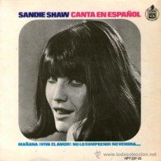 Discos de vinilo: SANDIE SHAW CANTA EN ESPAÑOL - EP VINILO 7'' - EDITADO EN ESPAÑA - MAÑANA + 3 - HISPAVOX 1966.. Lote 35205504