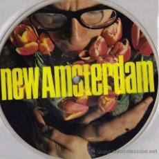 Discos de vinilo: ELVIS COSTELLO / NEW AMSTERDAM 1980 ( RARO EP !! LIMT. EDIT. PICTURE DISC. 4 TEMAS !! IMPECABLE !!!. Lote 35208042