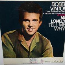 Discos de vinilo: BOBBY VINTON - MR. LONELY + 3 - SPANISH EP 1965 EPIC. NEAR MINT. COMO NUEVO.. Lote 35283072