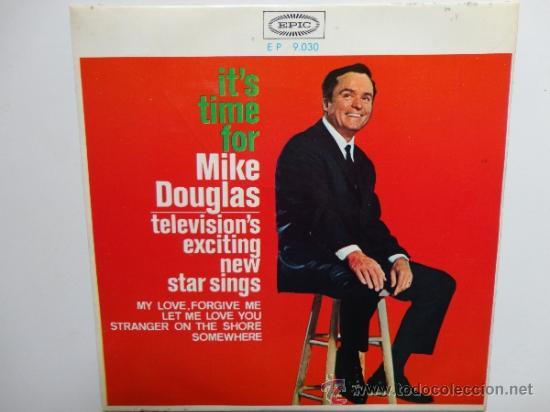 MIKE DOUGLAS- MY LOVE FORGIVE ME+3 -SPANISH EP 1965. EPIC. NEAR MINT.THE BEATLES.THE ROLLING STONES. (Música - Discos de Vinilo - EPs - Pop - Rock Internacional de los 50 y 60)