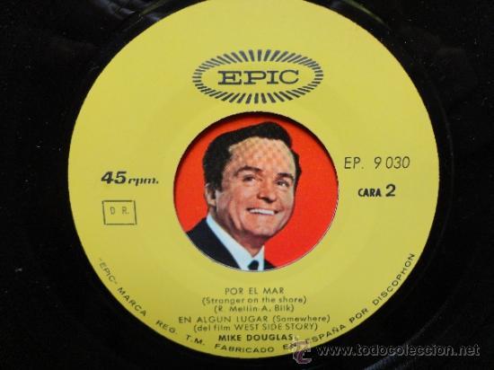 Discos de vinilo: MIKE DOUGLAS- MY LOVE FORGIVE ME+3 -SPANISH EP 1965. EPIC. NEAR MINT.THE BEATLES.THE ROLLING STONES. - Foto 4 - 35283583