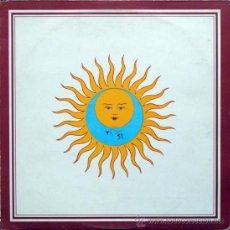 Discos de vinilo: KING CRIMSON - LARKS TONGUES IN ASPIC (LP) EDICION ESPAÑOLA DE 1980 - EX/EX. Lote 35210517