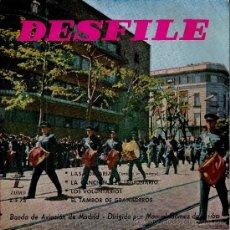 Discos de vinilo: DESFILE DE LA BANDA DE AVIACION DE MADRID.AÑO 1959. Lote 35214826