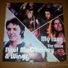 Discos de vinilo: MY LOVE THE MESS PAUL MCCARTNEY & WINGS (BEATLES). Lote 35218017