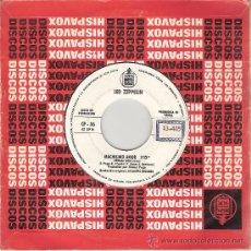 Discos de vinilo: LED ZEPPELIN / PETER PAUL & MARY - WHOLE LOTTA LOVE / LEAVING ON A JET PLANE (45 RPM) PROMO! - VG++. Lote 35225510