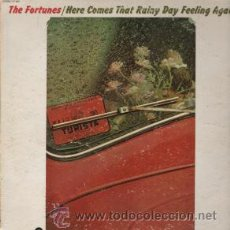 Discos de vinilo: THE FORTUNES / HERE COMES THAT RAINY DAY FEELING 1971 ( BEAT BRITISH ) !!!. Lote 35234375