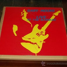 Discos de vinilo: GARY MOORE LP LIVE AT THE MARQUEE HEAVY METAL. Lote 35236701