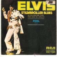 Discos de vinilo: SINGLE EDITADO EN ESPAÑA 1973 STREAMROLLER BLUES - FOOL. Lote 35242882