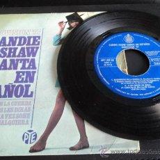 Discos de vinilo: EP 45 RPM SANDIE SHAW. CANTA EN ESPAÑOL. EUROVISIÓN 1967. HISPAVOX. Lote 35246494