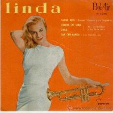 Discos de vinilo: LINDA ( MR CORNELIUS ) CAN CAN CONGA ( LOS MATECOCOS ) + 2 - EP SPAIN 1960 - VG++ / VG++. Lote 35256356