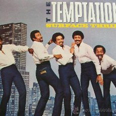 Discos de vinilo: THE TEMPTATIONS,SURFACE THRILLS EDICION USA. Lote 35259025