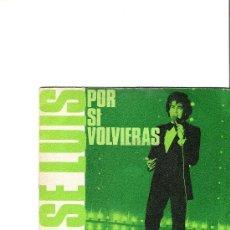 Discos de vinilo: JOSE LUIS RODRIGUEZ EL PUMA POR SI VOLVIERAS - ¿TE IMAGINAS MARIA?. Lote 35269970