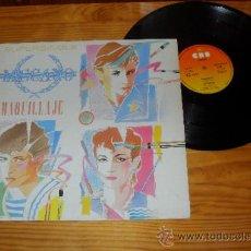 Discos de vinilo: MECANO MAXISIGLE MAQUILLAJE MADE IN SPAIN 1982. Lote 35273863