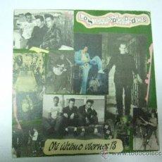 Discos de vinilo: LOS DESPIADADOS - MI ULTIMO VIERNES 13 - BURNING LOVE - SINGLE 1991 - LA ROSA RECORDS. Lote 35277004
