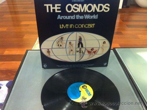 Discos de vinilo: THE OSMONDS / AROUND THE WORLD IN CONCERT !! DOBLE LP !! ORIG. USA !! EXCELENTE !!!! - Foto 4 - 35288941