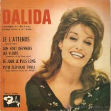 Discos de vinilo: EP DALIDA EDTIADO EN ESPAÑA JE L'ATTENDS. Lote 35293357
