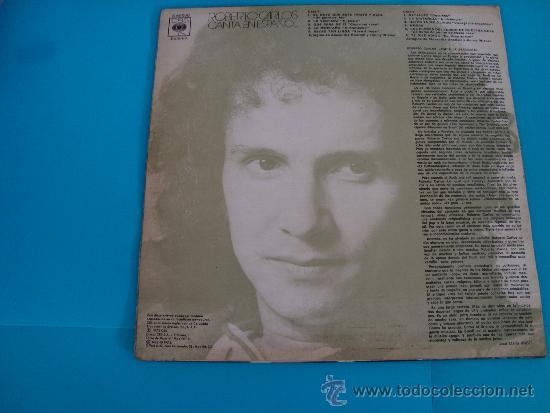 Discos de vinilo: Disco de vinilo Roberto carlos el gato que está triste y azul - Foto 2 - 35299891