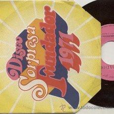 Discos de vinilo: SINGLE 45 RPM /LOS CANARIOS / FREEYOURSELF // EDITADO FUNDADOR . Lote 35301023